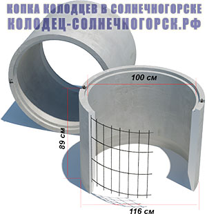 бетонное кольцо КС 10-9 с замком