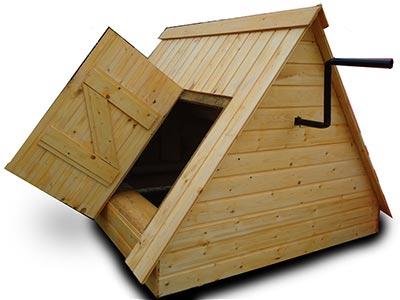колодезный домик на колодец
