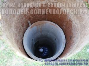 строительство колодца: установка жб колец